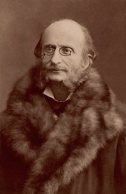 This image has an empty alt attribute; its file name is Jacques_Offenbach_by_Nadar.jpg