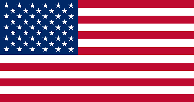 Colour United States Flag