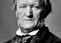 Black and White Photograph of Richard Wagner later in life