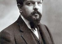 Black and White photograph of Claude Debussy taken in 1908 aged 46