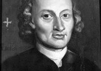 Black and white image of Johann Pachelbel