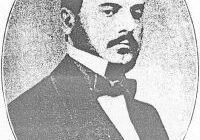 Black and white photograph of Jean Baptiste Arban as a young gentleman