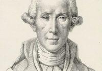 Head and shouldner of Luigi Boccherini drawn in pencil