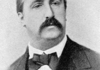 Black and white portrait of Alexander Borodin in his early thirties