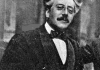 Black and white photograph of Frank Bridge in 1921 aged 42