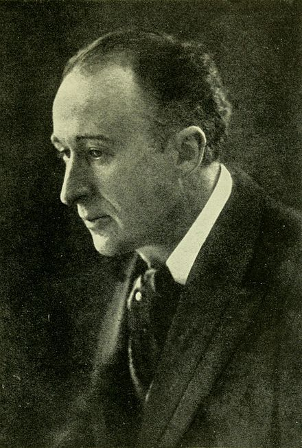 Black and White photograph of Frederick Delius in his mid-forties