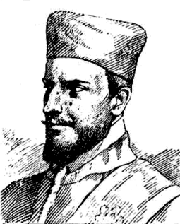 Black and white, head and shoulders drawing of Francesco Cavalli