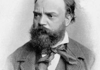 Black and White photo of Dvorak aged forty one
