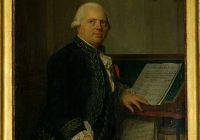 A coloured portrait of a middle aged Francois Joseph Gossec