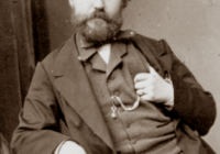 Black and White Photograph of Charles Francois Gounod in his forties