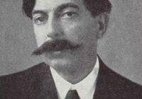 Black & White photo of composer Enrique Granados