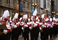 Marching Band in uniform