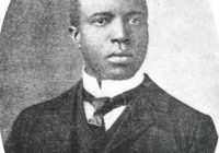 Black & White portrait of Scott Joplin in his thirties