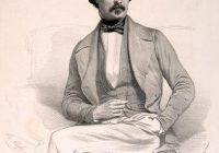 Black and White Portrait of Felix Le Couppey