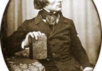 Black & White Photograph of Franz Liszt in 1843
