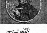 Thomas Tallis posthumous portrait engraving