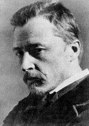Black & White portrait photograph of Hugo Wolf