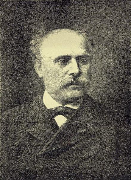 Black and White Portrait of Émile Waldteufel