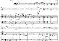 Pietro Mascagni: Cavalleria Rusticana: Easter Hymn: Tenor Sax Sheet Music