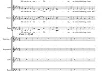 Gregorio Allegri Miserere Mei, Deus Sheet Music