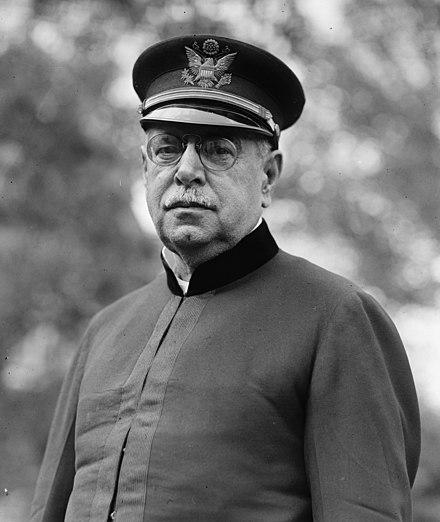 Black & White photograph of John Phillip Sousa taken in November 1922