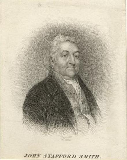 Black and White Portrait of John Stafford Smith