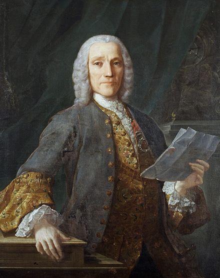 Colour Portrait of Domenico Scarlatti in 1738