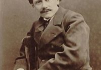 Black & White Photograph of Jules Massenet in 1880 by Pierre Petit