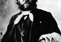 Black & White Photograph of Sebastian Yradier (Iradier)