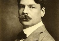 Black & White photograph of Edward MacDowell smartly dressed