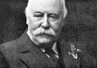 Black and White photograph of Charles Hubert Parry c.1916