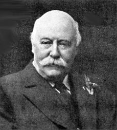 Black and White photograph of Charles Hubert Parry c1916