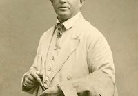 Photograph of Carl Nielsen c. 1908 dressed smartly