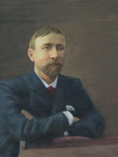 Colour Portrait of Gabriel Pierné