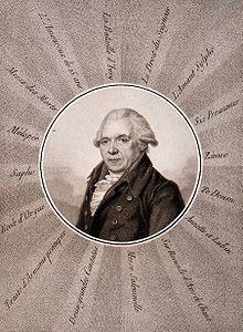 Black and White image of Jean Paul Egide Martini
