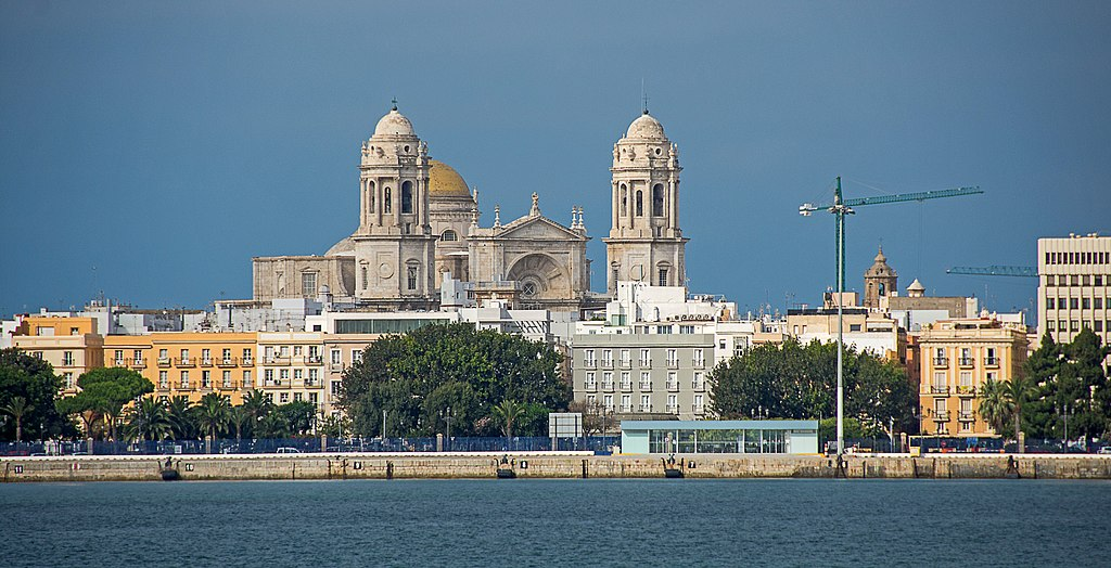 Panoramic view of Cadiz