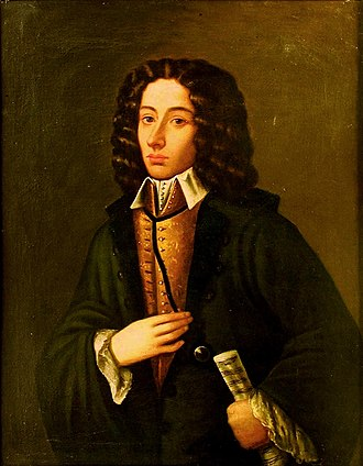 Colour Painted Portrait of Giovanni Battista Pergolesi